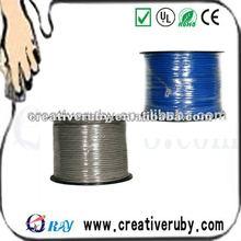 4Pair Indoor STP Fluke Copper/CCAG Cat5e Cable