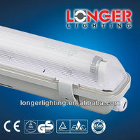 fluorescent lighting fixture IP65 18W/36W/58W ISO9001/CE/ROHS/GS/BSCI T8