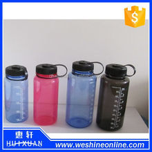 BPA free sport water bottle,tritan water bottle with transparent scale mark