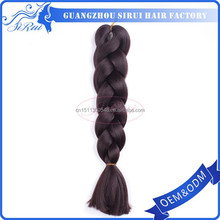 New style xpression synthetic hair braiding, wholesale cheap braid, kanekalon jumbo braid dreads
