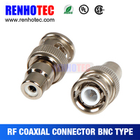 Wholesale Price BNC Plug to RCA Jack Coaxial Electrical Connector to Screw Terminal Aapters