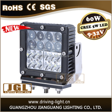 OFF ROAD Truck Boat 12V/24V 4WD ATV/SUV Square 60W LED spot Beam Work Light