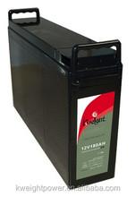 Lead acid battery 12V 180AH fan with solar battery