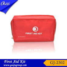 With CE FDA Certificate convenient carry custom first aid kit/band aid artists