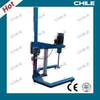 Liquid laboratory device/ machinefor mixing paint/air pneumatic mixer