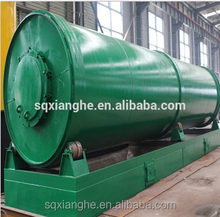High and latest technology waste tire pyrolysis recycling plant