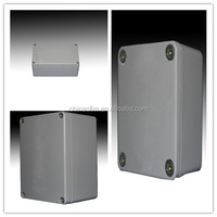 Durable extruded aluminum case for industry