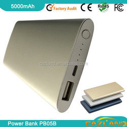 PB05B High quality mobile power supply bank/universal power bank