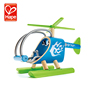 Antique painting new organic toy helicopter for toddler