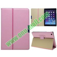 New Arrival For iPad Mini 2 Folding Leather Case with Stand