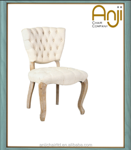 Modern Tuffed Dining Chair with Buttons for Furniture