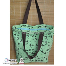 2015 Low Price High Quality Custom Recycle Cotton Bag With Zipper/Canvas Tote Bags With Zipper Closure/Large Zippered Tote Bag