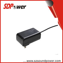 100-300V 12V 1A 24V 0.5A 15V 0.8A 9V 1.5A Power adapter with UL CE FCC ROHS for Ruoter,DVD, camera,ADSL
