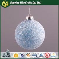 Home decorative hot toys for christmas 2015 Glass ball