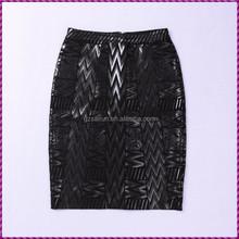 New fashion Women's Slim Retro Casual High Waist Bag Hip Knee Length Office Lady Pencil Skirt