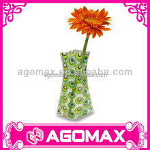 Home Decorative Miracle mini pvc foldable vase