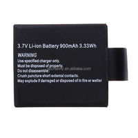 Excellent quality 3.7V 900mAh Li-ion Backup Rechargable Battery for Car Sports Action Camera Accessories DVR DV for SJ4000 M10