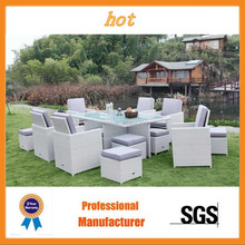 TM-RS901 8 seats rattan outdoor furniture hot sale cheap price high quality