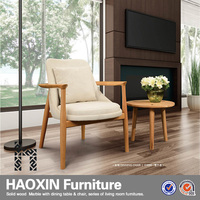 excellent high back armrest round back dining chair with solid wood frame living room furniture/wedding chair