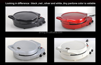 Double Heating Plate Pizza Maker With Switch Bottom By Plate Heating Separate