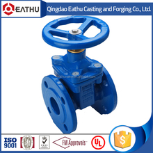 DIN3352 F4 non rising stem gate valve with price