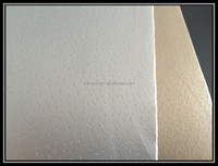 Gold leather metallic embossing Lining fabric for bags