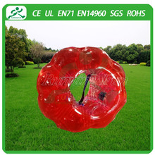 inflatable exercise body bumper ball for activity