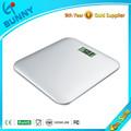 soleado electrónica digital de cuarto de baño escala de peso corporal
