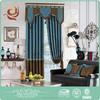 New design Wholesale Elegant 3 pass blackout curtain fabric