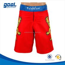 Men's custom printed Plain Fabric MMA Short