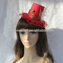 Mylove rojo sombrero sombreros de copa barato venta al por mayor de yiwu MLGM007