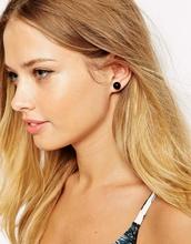 2015 Fashion Design Jewelry Women's cheap fake Double Side Shining fashion double Pearl Earrings for women