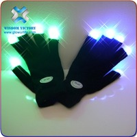 2015 halloween led luminous gloves for events,gloves led