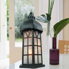 2014 newest metal antique white bird cage candle lantern