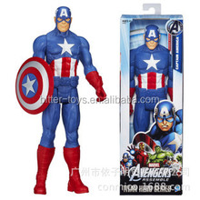custom captain america toy action figure for gift and cake