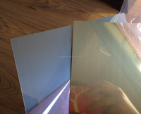 mirrored metal sheet for heat transfer sublimation printing