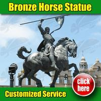 Brand new degas Horse Sculpture reproductions with CE certificate