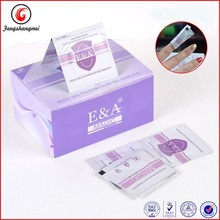 fengshangmei popular remover wrap with best quality nail gel wipes boxes