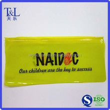 Pen packaging PVC zipper slider bag