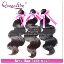 2015 Best selling #1b virgin brazilian human hair weave