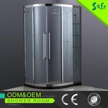 Safe popular circular shower enclosure with CE certificate