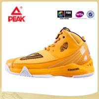 PEAK TEAM Original Stars Player George Hill TRIANGLE GH3 Professional Cool Men Orange Basketball Shoes