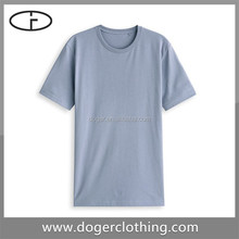 Professional tshirt manufacturer round neck durable t shirt mens for adult