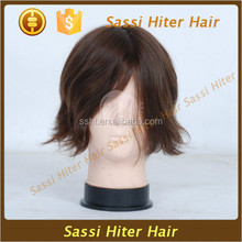 2015 new style product wigs human short hair for man