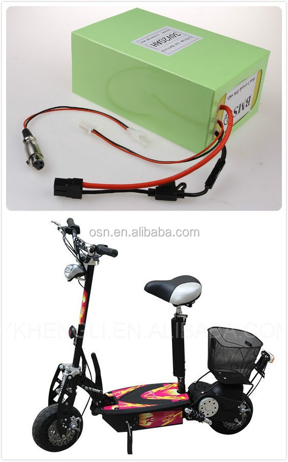 Lithium Battery Powered Motor Scooter New Design 36v 30ah