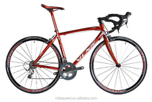 20 speed race road bike with carbon fork