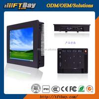 8 inch N2800 rugged 1024X768 industrial embedded panel pc