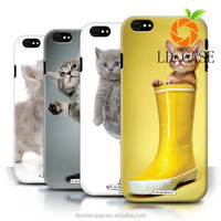 Creative style Cute Cat printing waterproof hard pc material cell phone case cover for iPhone 6s