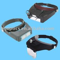 Head magnifier/head magnifier with light/head loupe magnifier