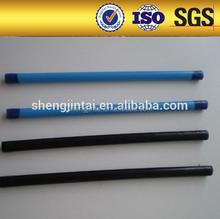 The filled epoxy coating and zinc coating steel strand